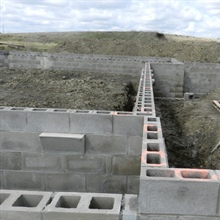 New Masonry Foundation